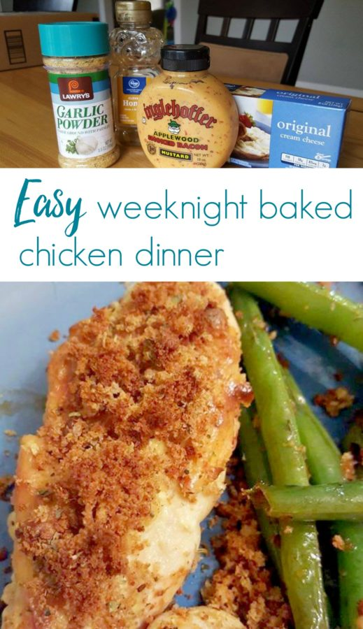 Easy Delicious Weeknight Baked Chicken Dinner